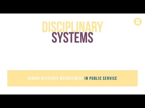 Disciplinary Systems