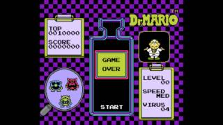 Dr.Mario (NES) - Game Over