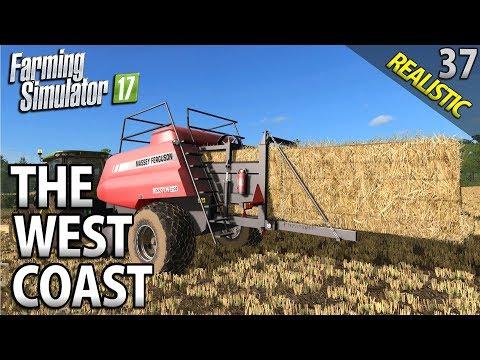 HESSTONS | Farming Simulator 17 | The West Coast | Episode 37