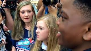 16 Year Old Black Trump Supporter Schools Black Lives Matter Moron in Epic Debate