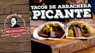 Tacos de Arrachera Picante -  Recetas del Sur