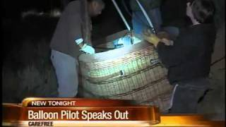 Pilot of hot air balloon gone wild speaks out