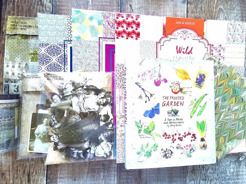 junk-journal---new-crafty-haul-finds---featuring-tim-holtz---amazon-,-etsy-and-free-printable's
