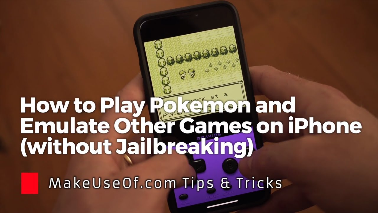 How to Play Pokemon & Emulate Other Games on Your iPhone or iPad