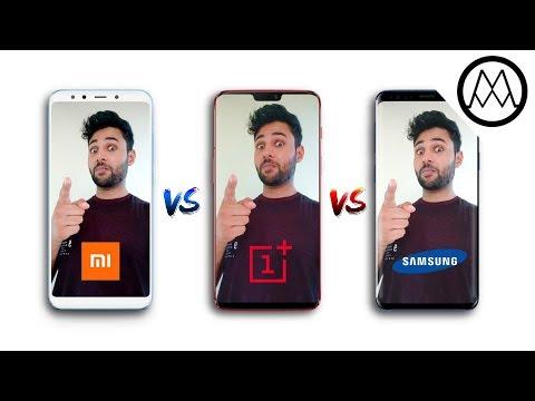 Xiaomi Mi A2 vs OnePlus 6 vs Samsung S9+ Camera Comparison