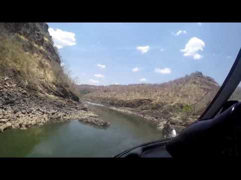 A Helicopter Ride over the Zambezi