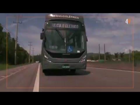 PRIMEIRO ÔNIBUS MOVIDO A ENERGIA SOLAR NO BRASIL