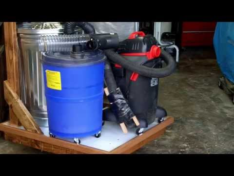 DIY Dust Collection Cart for small woodshop