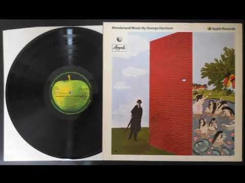 G. HARRISON - WONDERWALL.  LP (FULL ALBUM )