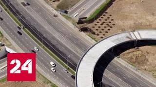 Развязку на пересечении МКАД и Профсоюзной улицы уже достраивают