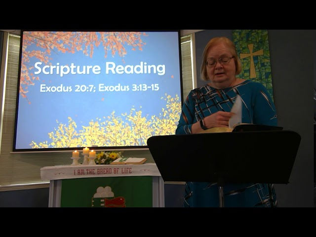 "September 20, 2020 ~ Rev. Julia Price ~ ""Rules of the Road: God's Holy Name"""