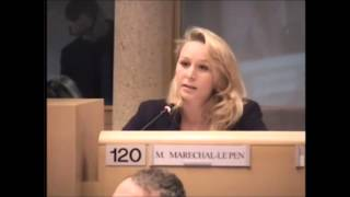 Marion Maréchal-Le Pen propose que la Région émette un voeu en faveur de la dissolution de l'UOIF