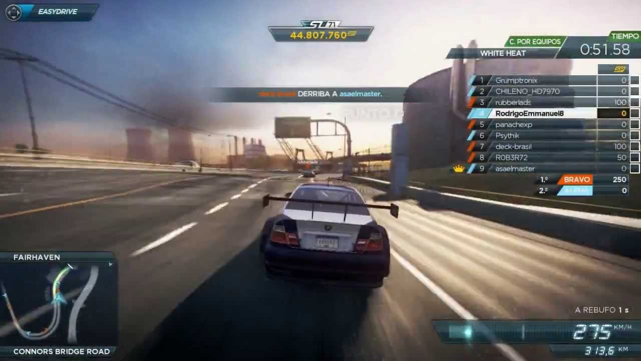 Need For Speed Most Wanted Multiplayer Race 4 Bmw M3 Gtr By