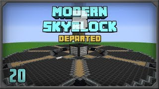 Modern Skyblock 3 Departed EP20 Cursed Earth Ritual + Loot Bag Automation