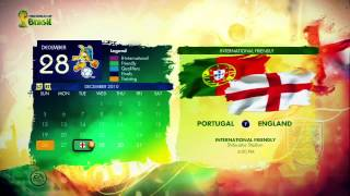 EA Sports Fussball Weltmeisterschaft 2014 Brasilien - Gameplay Series Sights and Sounds | HD