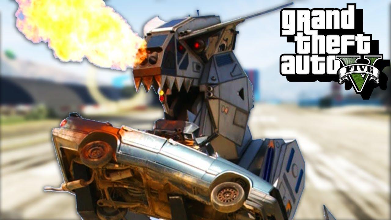 CUCKASAURUS - GTA 5 Gameplay