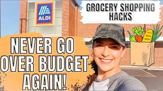 THE BEST GROCERY SHOPPING HACKS TO SAVE MONEY | MEAL PLANNING ON A BUDGET FOR 5 | ALDI HAUL 2021