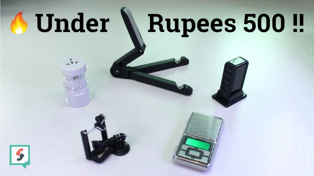 5 Unique Gadgets under Rs.500 | Hindi Review | 2018 - YouTube