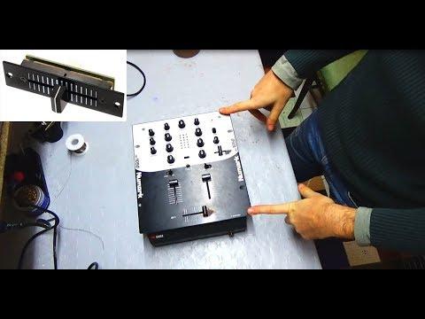 Pulizia Crossfader MIXER dj Numark