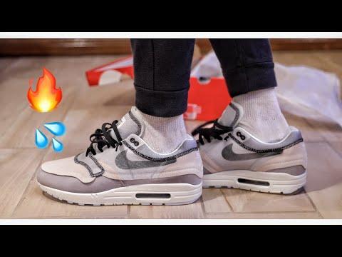 Nike Air Max 1 Inside Out Phantom Black