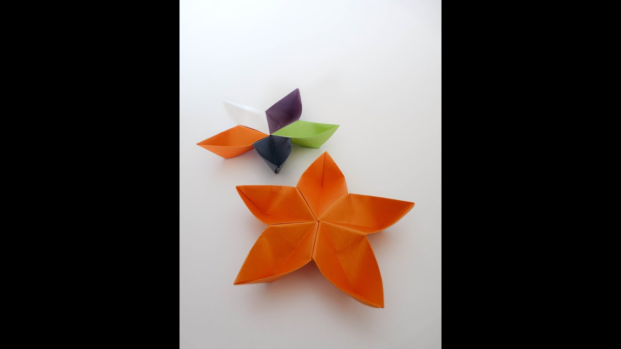 Origami Flower Sakura Youtube
