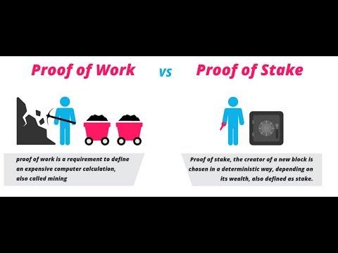 Proof Of Work Vs  Proof Of Stake - Was Ist Der Unterschied?