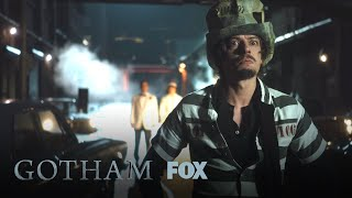 the mad hatter ambushes harvey gordon season 4 ep 16 gotham