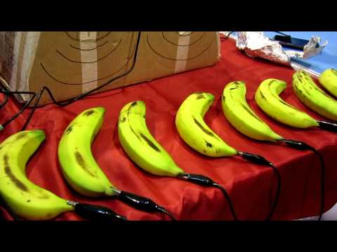 Banana Piano Keyboard @ Singapore Maker Faire