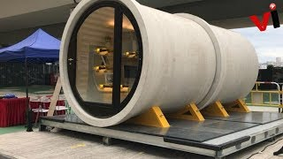 Concrete Pipes Transformed Into Tiny Homes Could Be The Future Of Micro Housing