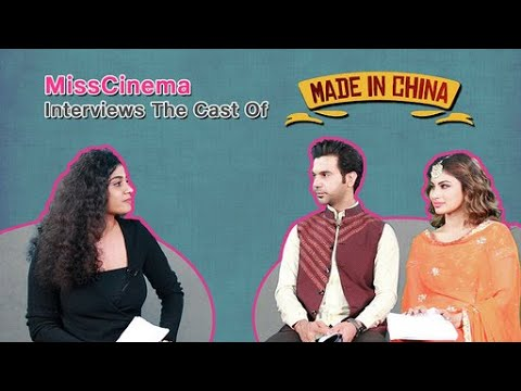 Download MissCinema   interview with RajKummar Rao and Mouni Roy   Made In China