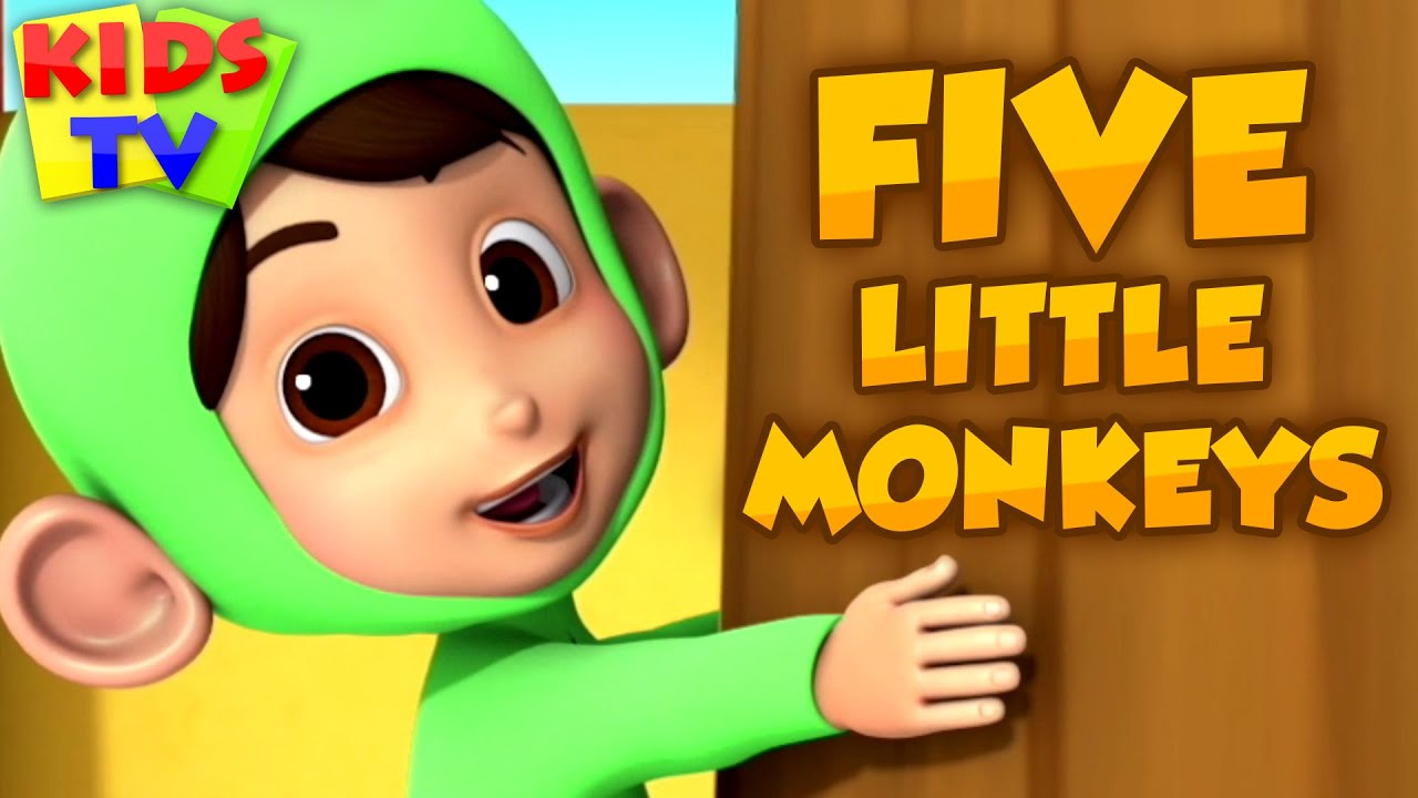 Five Little Monkeys & More Kids Nursery Rhymes | Songs for Children