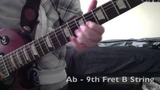 Dr. Dre & Snoop Dog The Next Episode HD Guitar Tutorial Video