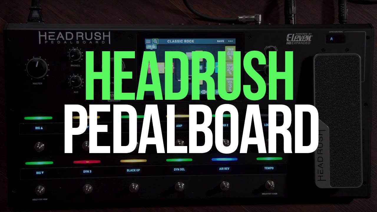 New Demo: See the HeadRush Pedalboard in Action - GuitarPlayer com