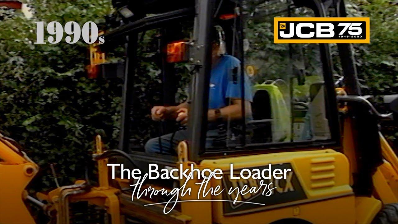 History of the JCB Backhoe Loader - 1990s
