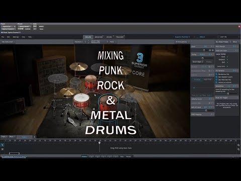 Superior Drummer 3: Mixing Punk/Rock/Metal Drums