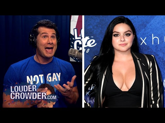 LIKING BEWBS IS SEXIST! Ariel Winter Goes Full #SJW Feminist   Louder With Crowder