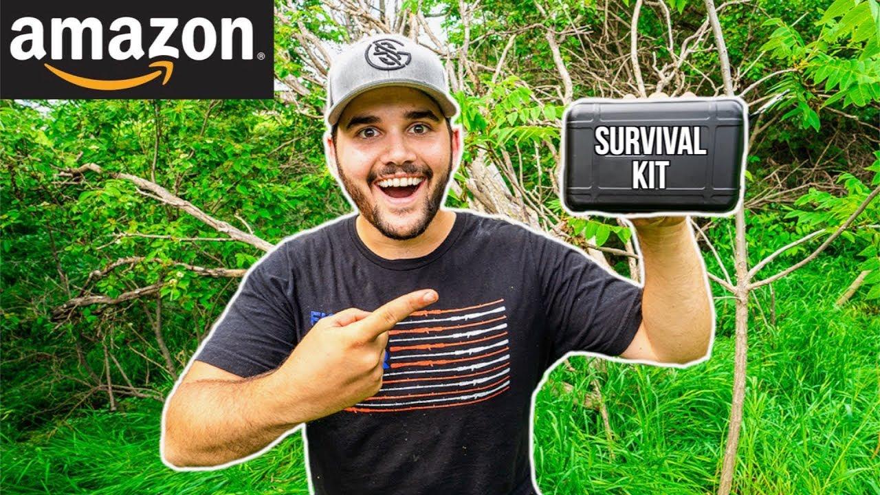 Testing CHEAP Amazon SURVIVAL KIT!!! (Only )