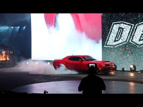 Official Dodge Demon Reveal w/Specs