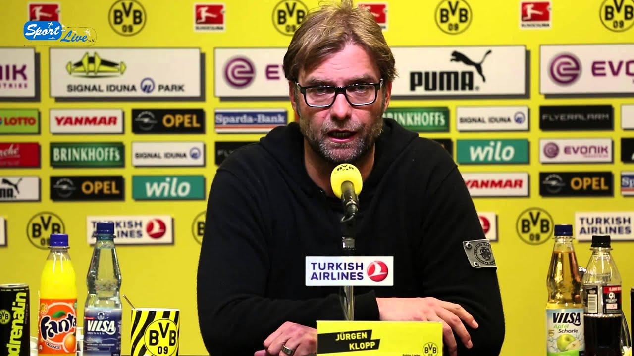 BVB Pressekonferenz vom 02. Mai 2013 vor dem Spiel Borussia Dortmund gegen den FC Bayern München