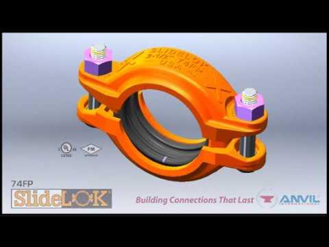 74FP SlideLOK Rigid Coupling Installation Animation