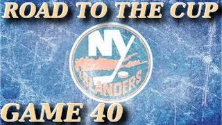 GAME 40 | NHL13 PS3 League | Lemieuxleeds NYI vs Kojtas CAR