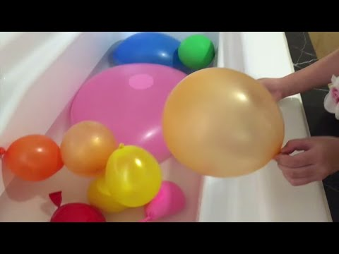 Mainan Anak  Mandi Balon Raksasa Giant Balloon Learn Color for Kids @LifiaTubeHD