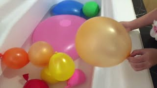lifia niala balon air raksasa giant balloon learn color for kids