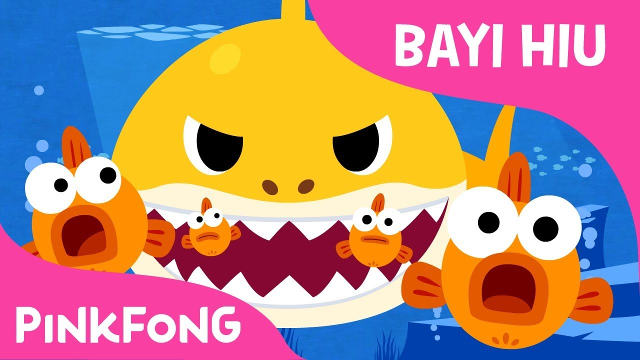 Baby Shark Dalam Bahasa Indonesia Lagu Pinkfong Baby Shark Dari BabySharkChallenge