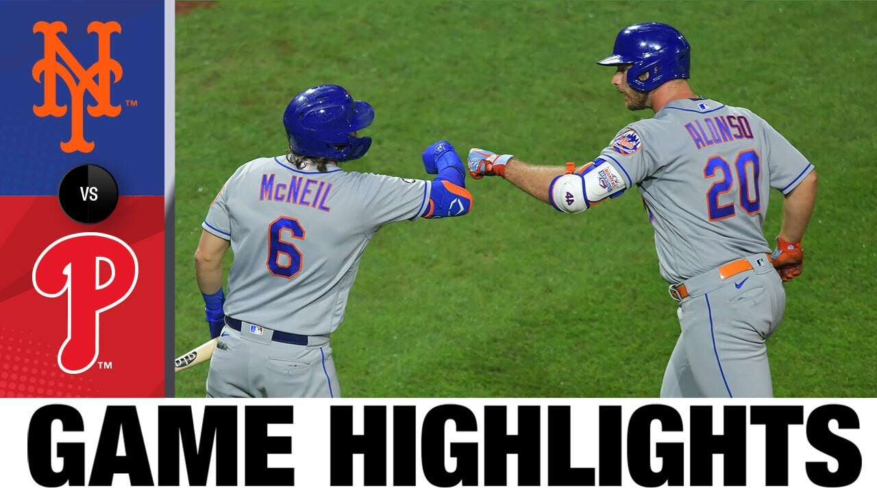 Brandon Nimmo delivers two clutch hits in Mets' win | Mets-Phillies Game Highlights 9/17/20