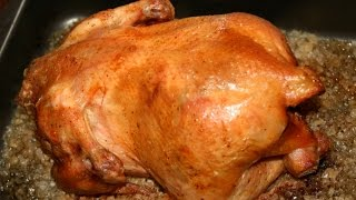 Самый простой и вкусный рецепт приготовления курицы / Курица на соли. Быстро - просто - вкуснейший.