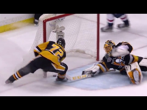 Thumbnail: Gotta See It: Kuznetsov starts celebrating but is robbed by Fleury and Hornqvist