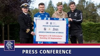 PRESS CONFERENCE | Gerrard & Middleton | 21 Sep 2018
