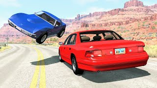 High Speed Traffic Crashes #35 - BeamNG Drive | CrashBoomPunk