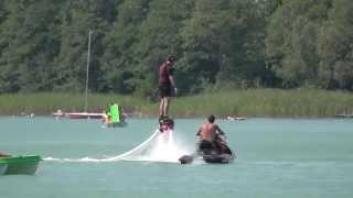 Flyboard – ewolucje na wodzie dla 2 osób – Lublin video